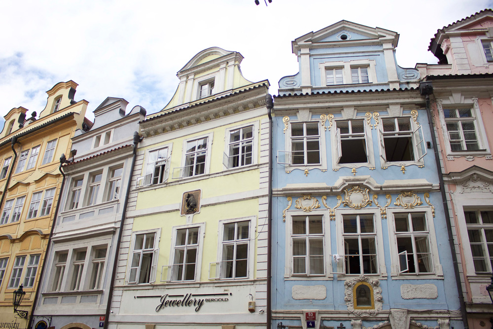 You can't beat the colorful buildings, on every corner. I have been to many cities that have beautiful buildings but only in a small area of town. Prague on the other hand is completely filled with beautiful clean buildings.