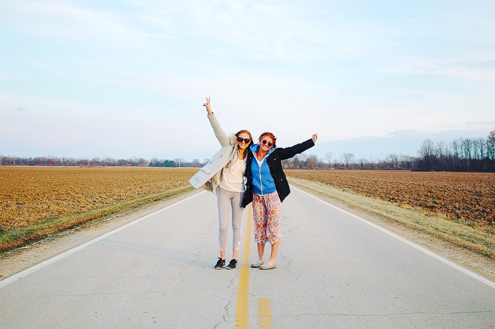 sister sister road trip across the country