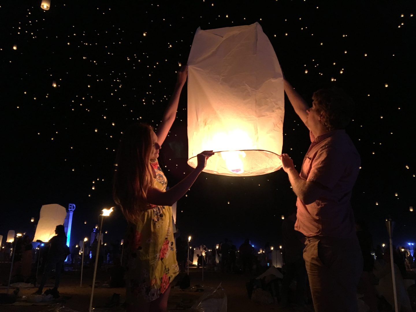 Surprise Birthday trip to RiSE Lantern Festival